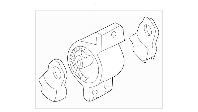 2001-2006 Honda INSIGHT Rubber Assembly, Transmission