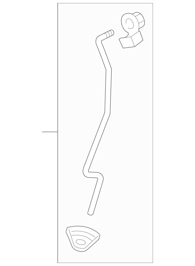 Discount Genuine OEM 2015-2017 Honda FIT 5-DOOR Rod Set, R