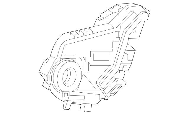 Honda Latch Assembly, L Rear Door Power (72650-T0A-H01