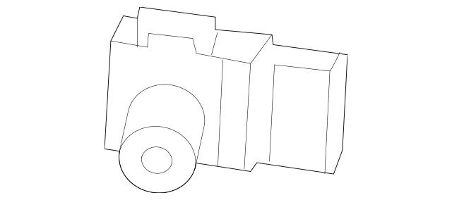 2010-2011 Honda PILOT 5-DOOR Sensor Assembly, Parking
