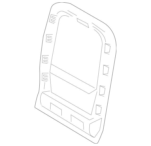 2013-2016 Lincoln MKZ Insert Panel DP5Z-5460763-DA