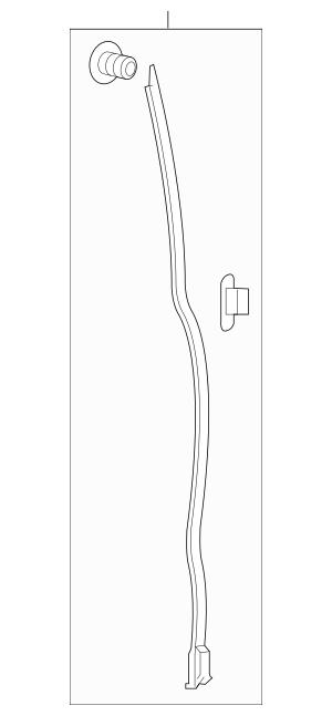 Honda Seal Assembly, R Front Slide Door Gap 72812-THR-A11