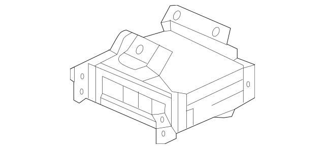 2013-2015 Acura RDX 5-DOOR Amplifier Assembly, Premium