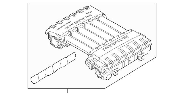 2008-2018 Porsche Cayenne Intake Manifold 955-110-006-01