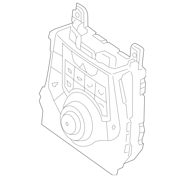 2011-2012 Hyundai Elantra Heater Control 97250-3X150-GU