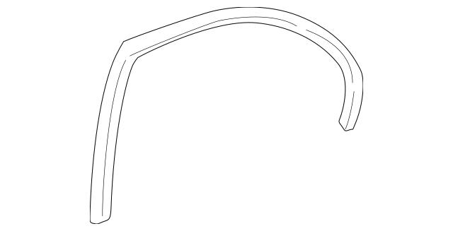 2001-2005 Honda Trim, Rear Opening *NH167L* (Graphite