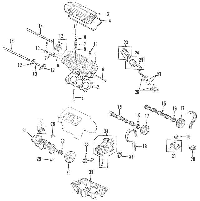 2003-2017 Honda Tensioner, Timing Belt Auto 14520-RCA-A01