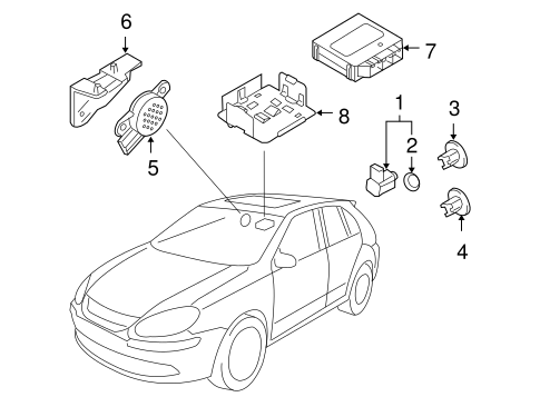 Electrical Components for 2008 Volkswagen Jetta