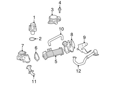 Dodge Emission System EGR System parts for a 2007 Dodge