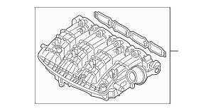 2015-2016 Audi A3 Intake Manifold 06L-133-201-AA
