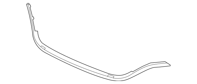 2015-2016 Honda CR-V 5-DOOR Molding, Front Grille [lower