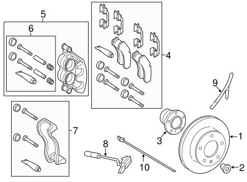 Anti-Lock Brakes for 2010 Mercedes-Benz Sprinter 2500