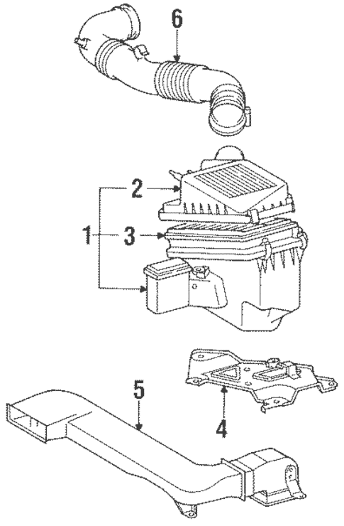 1991 Toyota Tercel Engine Diagram