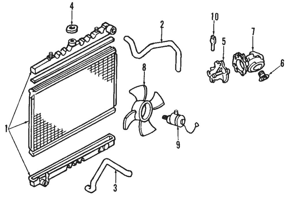 Genuine Nissan Engine Coolant Temperature Sensor 22630