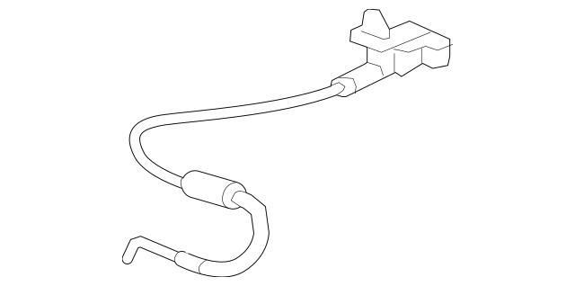 Honda Cable Assembly, R Rear Seat (82221-TS8-A41