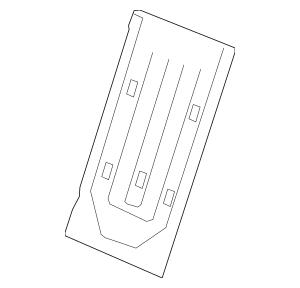 2012-2015 Honda Frame, R Rear Seat-Back 82126-TR0-A41