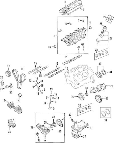 2003 hyundai xg350 l engine diagram