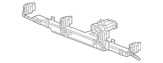 2012-2015 Chevrolet Camaro Engine Wiring Harness 22857150
