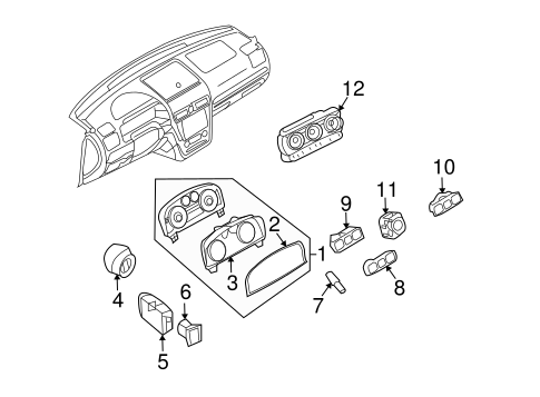 Automatic Temperature Controls for 2006 Lincoln Zephyr