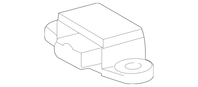 Genuine Mercedes-Benz Acceleration Switch Assembly 012-542