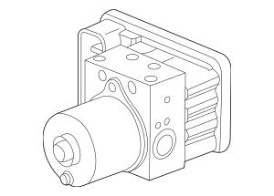 Genuine 2007-2008 Honda ELEMENT 5-DOOR Modulator Assembly