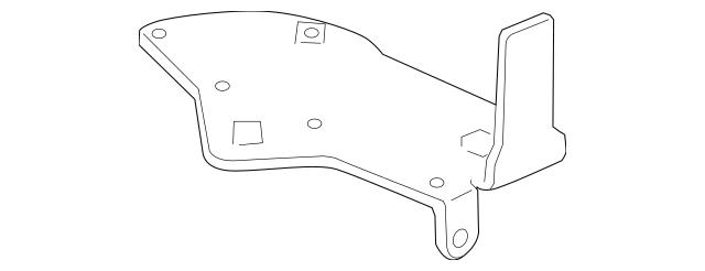 2006-2014 Honda RIDGELINE SEDAN Stay, Accelerator Pedal