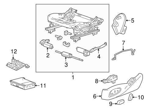 Tracks & Components for 2016 Chevrolet Camaro