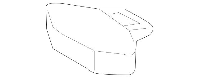 2016 Audi A3 Sportback e-tron Front Cover 7PP-907-299
