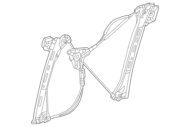 2013-2018 Mercedes-Benz Window Regulator 231-720-03-46