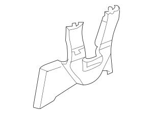 Honda Cover, R Front Seat Riser (Inner) *YR327L* (Pearl