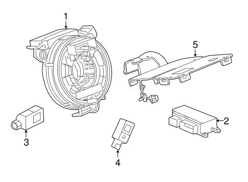 OEM Air Bag Components for 2016 Chevrolet Malibu