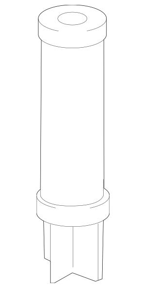 2015-2016 Chevrolet Impala Filter Assembly Refill 52371212