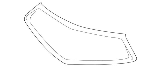 2018-2020 Acura TLX SEDAN Molding, Front Grille 71122-TZ3