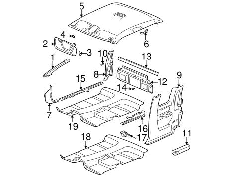Wiring Diagram: 30 Silverado Parts Diagram