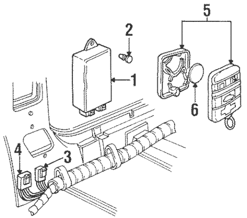 Electrical Components for 1998 Chevrolet Monte Carlo