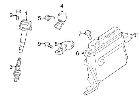 Genuine OEM Ignition System Parts for 2012 Toyota Prius V