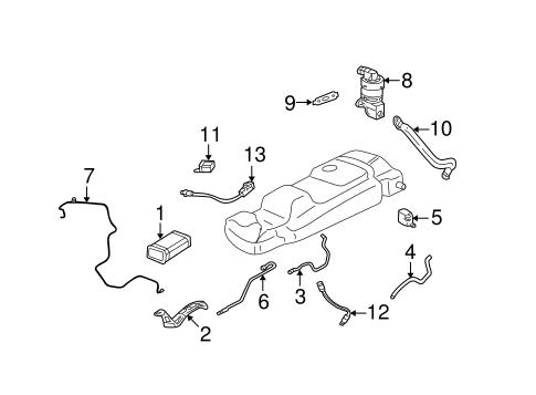 EMISSION COMPONENTS Parts for 2005 Buick Rendezvous