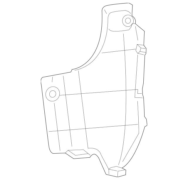 2013-2015 Toyota RAV4 Side Seal 52591-0R030