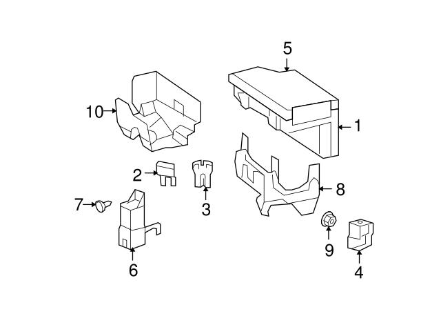 jeep fuse box cover