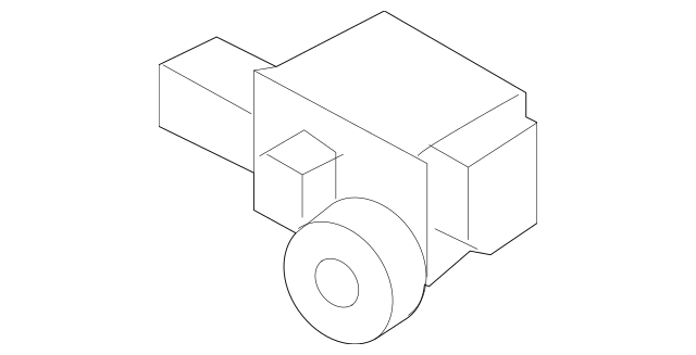 Genuine Ft Impact Sensor for 2015-2018 Audi Part# 8U0-959