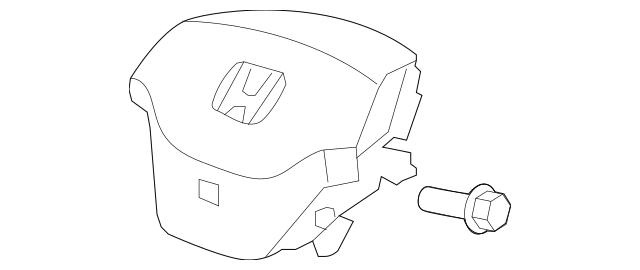 2007-2009 Honda CR-V 5-DOOR Module, Driver *NH167L* 77810