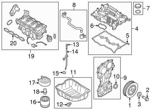 Hyundai Sonata Parts 2016