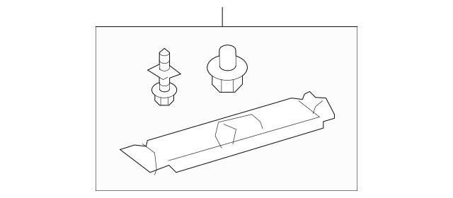 2016 Honda PILOT 5-DOOR Garnish Assembly, R Quarter Roof