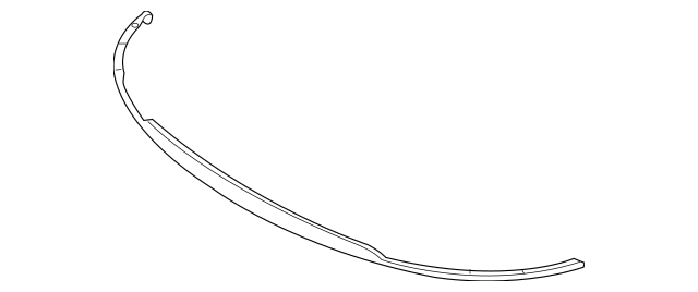 Genuine OEM Lower Deflector Part# 86590-1M000 Fits 2010