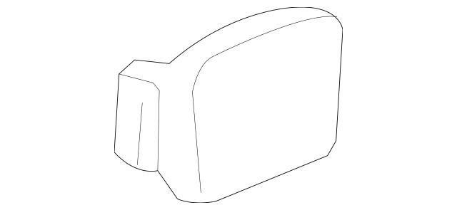 2005-2008 Honda PILOT 5-DOOR Lid, Fuel Filler 63910-S9V