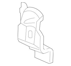2006-2008 Honda PILOT 5-DOOR Stiffener Set, L Rear