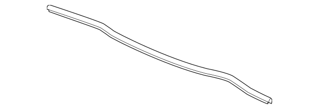 Genuine 2013-2017 Honda Rubber, Rear Hood Seal 74143-T2A