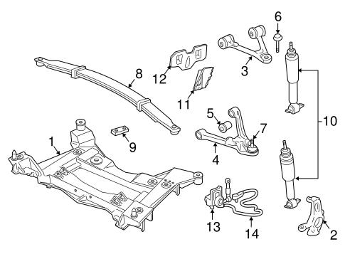OEM Suspension Components for 1999 Chevrolet Corvette