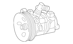 1998-2003 Mercedes-Benz Power Steering Pump 002-466-32-01