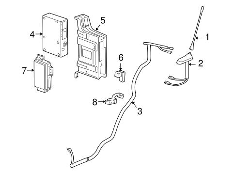 OEM 2012 Chevrolet Cruze Communication System Components